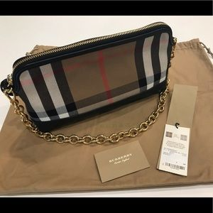 Authentic Burberry Small Abington Bag